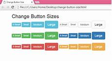 button php change button size android exles
