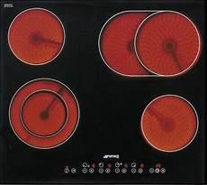 60 cm kochfeld autark glaskeramik smeg se2664 ceran
