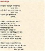 Amar Kobita Joler Manus By Abdus Sukur Khan