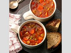 Vegetarian Hearty Soup image