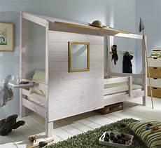 Abenteuerbett Mit Spielhaus Aus Holz Paradise