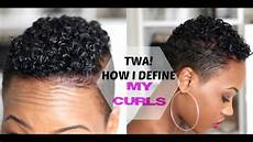 how to define your curls tapered twa short natural hair 2015 queenteshna youtube