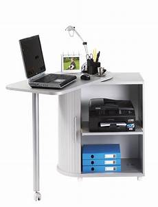 Bureau Informatique Design Blanc School Matelpro