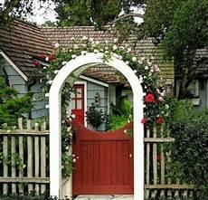 cool garden design with arch interior design ideas