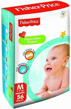 fisherprice happy baby diapers medium 6 11 kgs buy