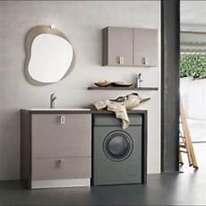 lavanderia bagno parete attrezzata l17