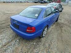 how to work on cars 2002 audi s4 on board diagnostic system find used 2002 audi s4 b5 turbo 6 speed salvage wrecked damaged rebuildable repairable hit in