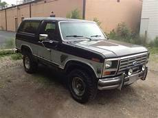 how to work on cars 1985 ford bronco electronic valve timing purchase used 1985 ford bronco full size 351w v8 4x4 needs work in canton ohio united states