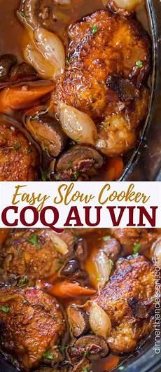 Coq Au Vin Original - cooker coq au vin dinner then dessert