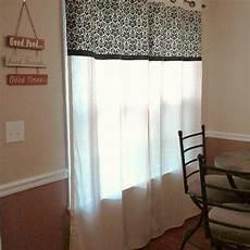 Kitchen Curtains Diy by Diy No Sew Kitchen Curtains Hometalk