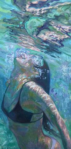 underwater paintings capture moments of tranquility