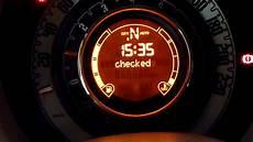 fiat 500 power steering warning