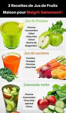 jus detox recette minceur 3 combinaisons de fruits pour