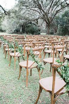 Outdoor Wedding Ceremony Without Chairs