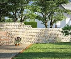 steinmauer als sichtschutz im garten gartenmauer ganz einfach selber bauen sichtschutz garten