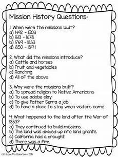 missions worksheets 18376 freebie california mission reading passage mission history tpt