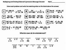 multiplication expressions worksheet 4394 simplifying multiplying and dividing rational expressions worksheet