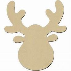 holzmotiv elch hirsch weihnachten basteln vorlagen