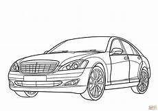 Malvorlagen Lkw Mercedes Mercedes S Class Coloring Page Free Printable