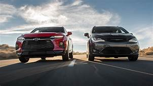 2019 Chevrolet Blazer Vs Chrysler Pacifica Comparison