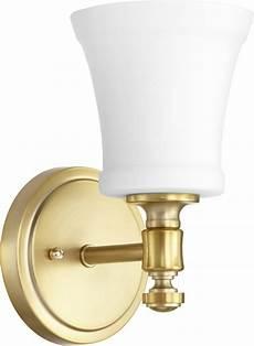 rossington 1 light wall light fixture aged brass w