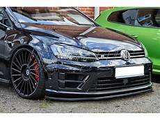 golf 7r tuning vw golf 7 r line i tech front bumper extension