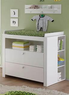 baby wickelkommode babyzimmer wickelkommode quot olivia quot wei 223 mit regalen