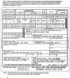 figure 2 5 exle of non nsn requisition dd form 1348 6