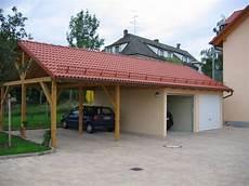 Kombination Aus Garage Und Carport In Berlin Und Brandenburg