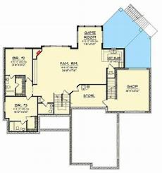ranch walkout basement house plans craftsman ranch with walkout basement 89899ah