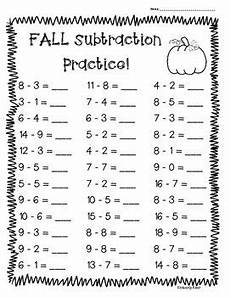 subtraction worksheets year 9 10347 fall subtraction practice 4 leveled worksheets great for back to school math work math