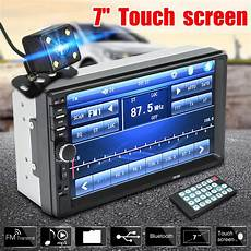 Universal 7inch 2 Din Bluetooth Lcd Touch Screen Car Radio