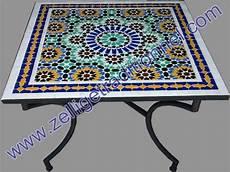 tables en zellij marocain pour conna 238 tre le bon prix