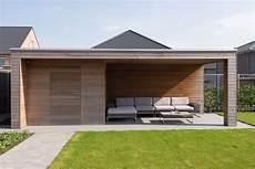 abri jardin moderne modern tuinhuis met overkapping abri de jardin moderne
