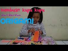 Tutorial Membuat Kupu Kupu Dari Origami