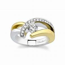 two tone diamond engagement ring 6722lpw ring ideas