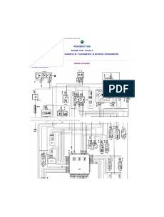 Peugeot 307 Wiring Diagram Electrical Connector Diesel