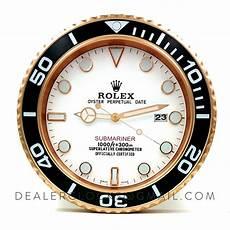 xl rolex submariner serie 116610 gold wanduhr