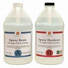 Epoxy Resin 1 Gal Kit Clear For Gloss