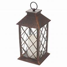 traditional led candle lantern light holder indoor outdoor table hanging decor ebay