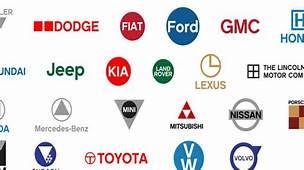 Famous Car Logos Get Flat Design Reworking  Logo