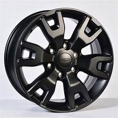 ford ranger wildtrak 18 inch satin black alloy wheels