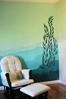 40 easy wall painting designs bedroom ideas forest