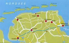 Ostfriesische Inseln Karte - ostfriesland und die ostfriesischen inseln