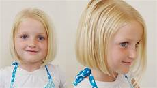 how to cut little girls hair basic bob haircut short