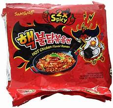com samyang ramen spicy chicken roasted noodles 140g of 5 grocery gourmet food