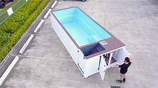 Container Als Pool - shipping container pool 6m walk around