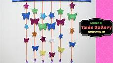 diy butterfly and star wall room decor paper craft