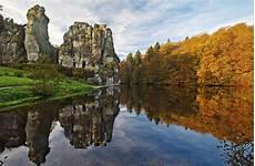 nordrhein westfalen interessante orte externsteine horn bad meinberg teutoburger wald geo