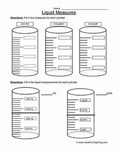 free liquid measurement worksheets 2021 measurement worksheets teaching